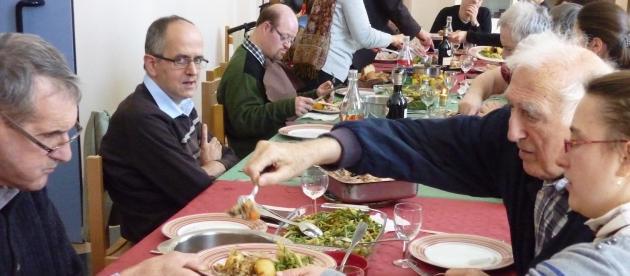 Déjeuner avec Jean au Val Fleuri