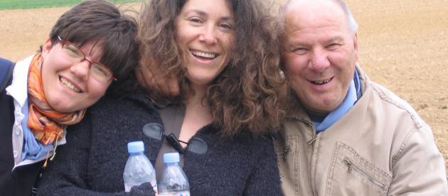 Isabelle, Farida et Christian